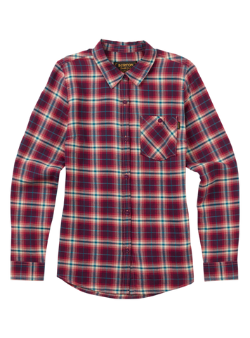 Burton Women's Grace Flannel Anemone Haze Plaid