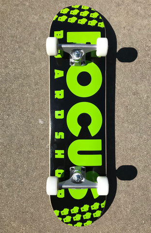 Focus Shop Hybrid Cruiser Complete Skateboard (Multiple Colors available)