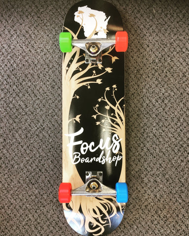 Focus Wisconsin Roots Hybrid Complete Skateboard