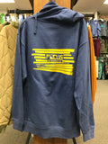 Focus Snowy Peak Logo Zip Hoody Heather Blue