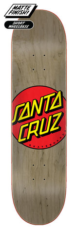 Santa Cruz Classic Dot Skateboard Deck 8.375""