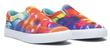 Lakai Owen Kids Skate shoes Tie Dye Canvas