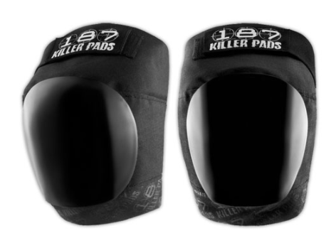 187 KILLER PADS PRO KNEE BLACK/BLACK