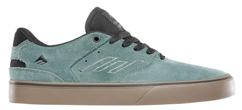 Emerica The Low Vulk Shoes Green Gum