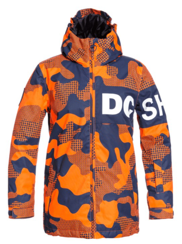 DC Propaganda Youth Jacket Camo Orange