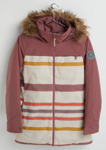 Burton Lelah Women's Jacket 2021 rose brown