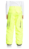 DC Banshee Snow Pants 2021 safety yellow