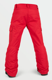 Volcom Cargo Ins Pant Youth 2021 red