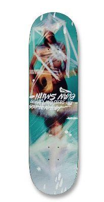 Uma Landsled Evan Smith Taped up Skateboard Deck 8.5""