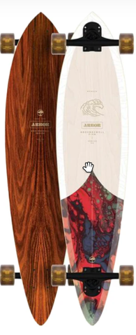 Arbor Fish Groundswell Longboard Complete 37