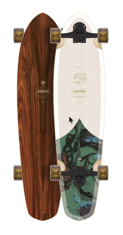 Arbor Groundswell Mission Longboard Complete