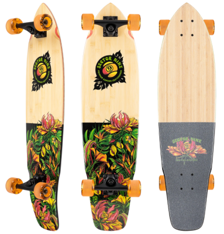 Sector 9 Ft Point Eden Longboard Complete