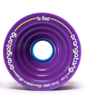 Orangatang In Heat Purple Longboard wheels