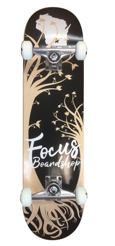 Focus Shop Complete Skateboard Wisconsin Roots