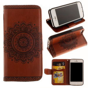 Wallet Henna Iphone Mobile Phone Cases