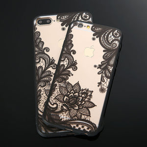 Henna Floral Mobile Phone Case