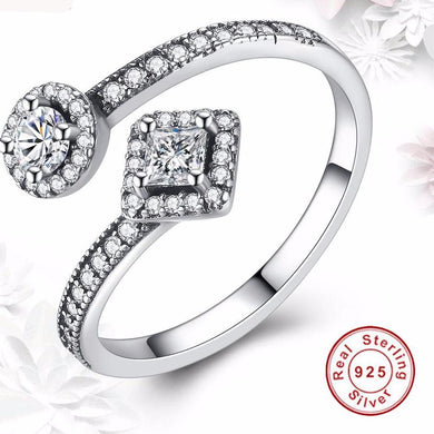 CZ Cubic Zirconia Promise Rings for Her By Rotani
