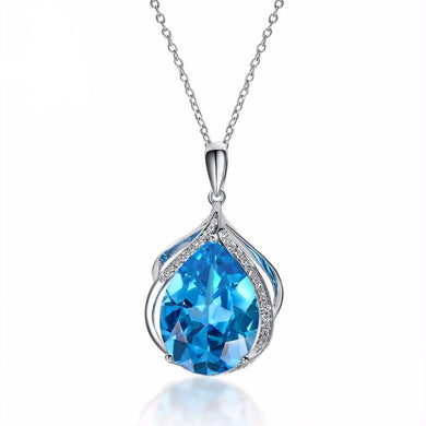 Diamond Covered Pendant & Necklace