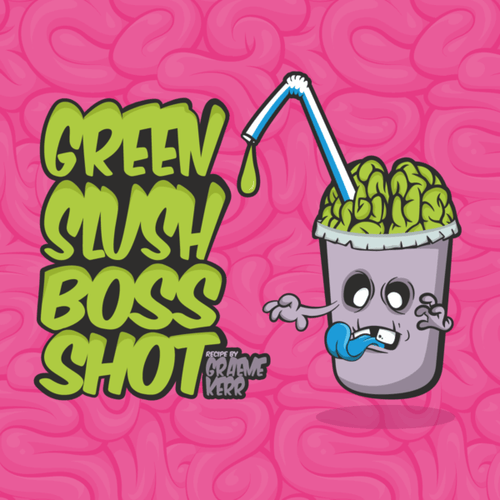 Cloudhouse:Green Slush - Flavour Boss