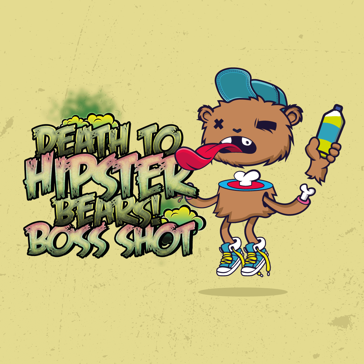 Cloudhouse:Death To Hipster Bears! - Flavour Boss