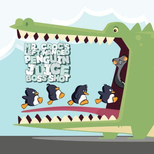 Cloudhouse:Mr. Croc's Left Handed Penguin Juice