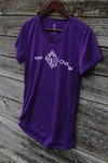 *Hyner 25k Women's shirt - purple