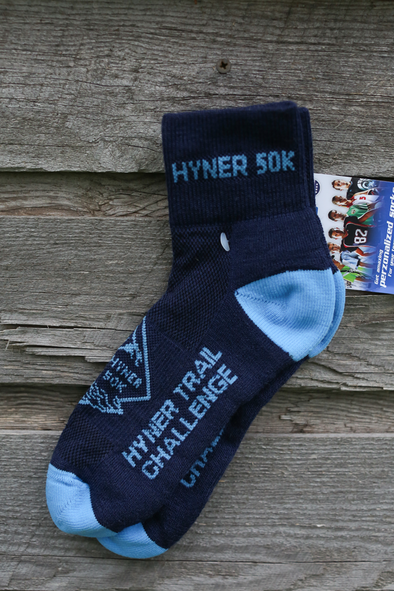 *Hyner Challenge 50k Trail Socks - navy