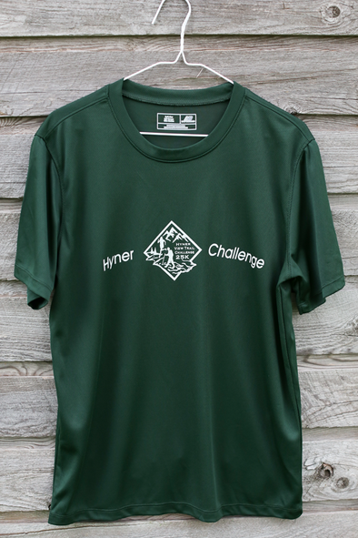 *Hyner 25k Men's shirt - forest green