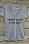 Gear Up Grow Wild shirt - heather gray