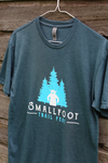 Smallfoot Trail Fest adult shirt - Indigo