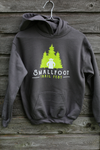 Smallfoot Trail Fest Hoodie - charcoal & lime