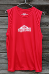 Sproul 10k Men's sleeveless shirt - red