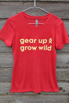 Gear Up Grow Wild shirt - watermelon