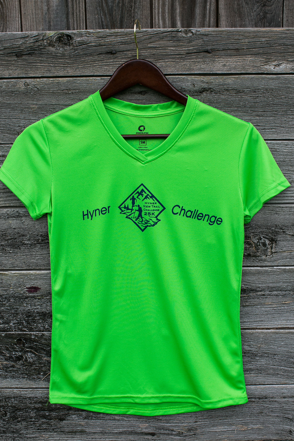 Hyner 25k Women's shirt - lime