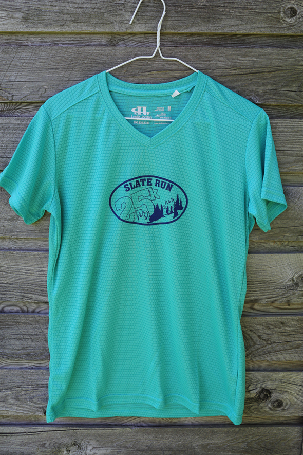 Slate Run Women's shirt - marine blue
