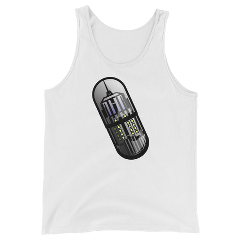 Adult Tank Top | Empire State Pill-Ding | OMTeeShirts.com