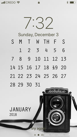 Free Download Wallpaper iPhone 2018 January