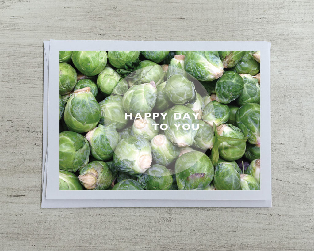Brussels Sprouts Card