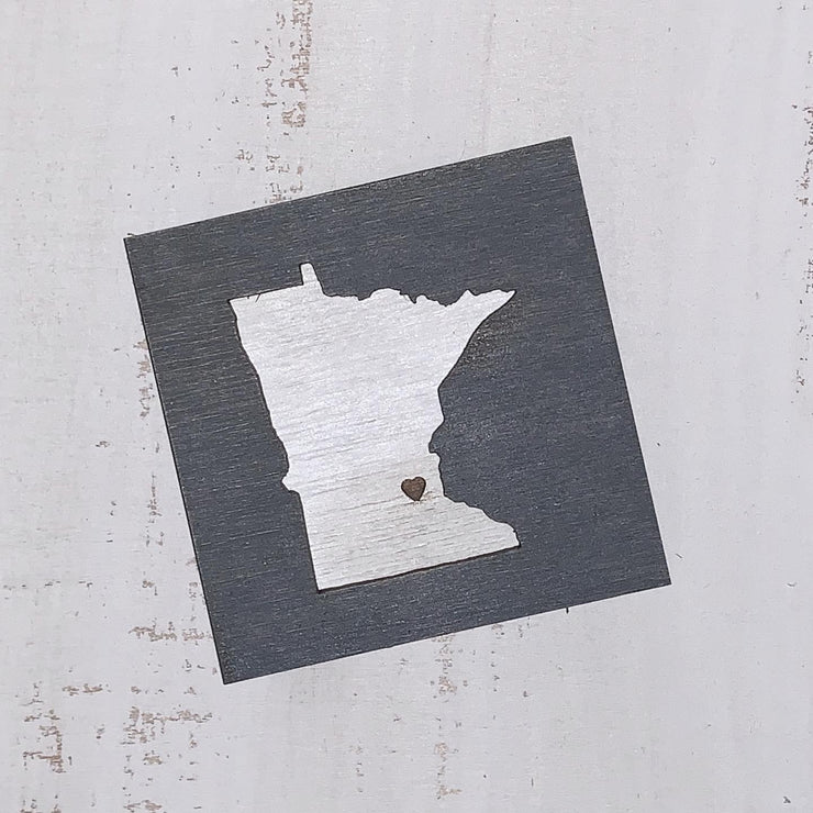 Minnesota Love Art Magnet
