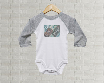 Colorado Baby Onesie | Romper | Vintage License Plate Art