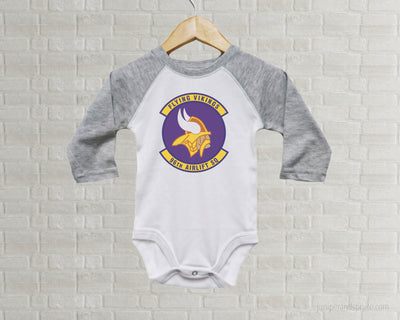 Baby Romper - Flying Vikings
