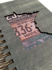 Minnesota Journal - Handmade Wooden Journal