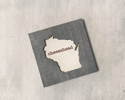 Wisconsin Love Art Magnet