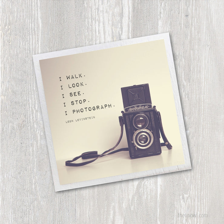 Magnet - Photography Quote