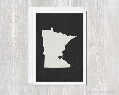 Greeting Card - Minnesota Love