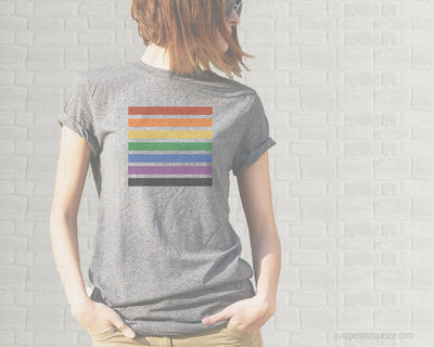 Pride Stripes T-Shirt | Unisex Shirt
