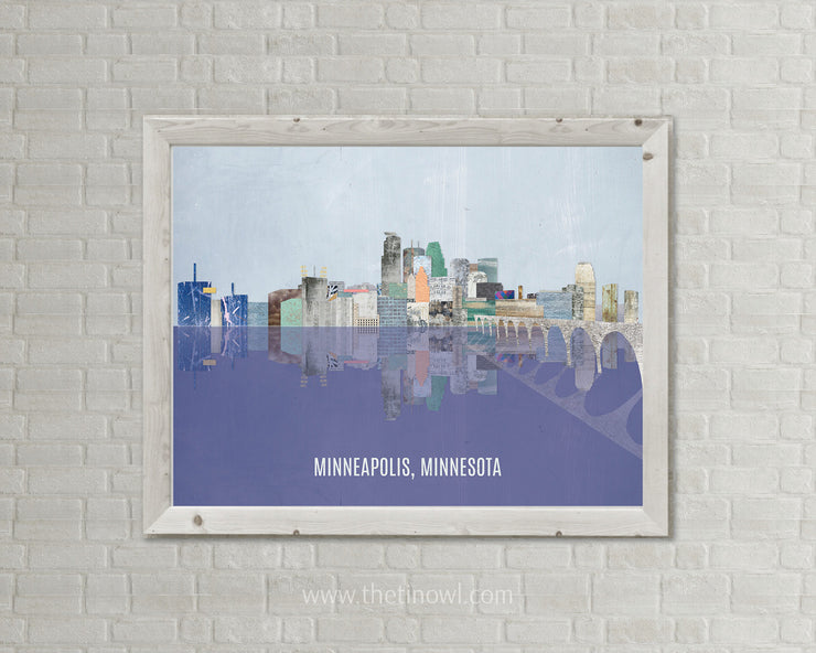 Minneapolis Skyline - Photography Print