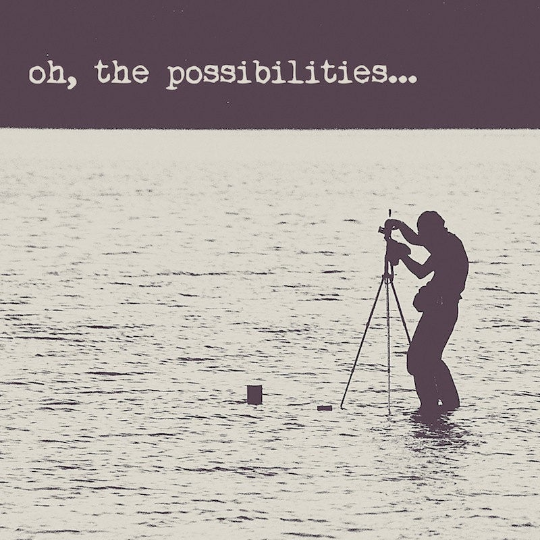 SALE - Oh the Possibilities Quote - Print