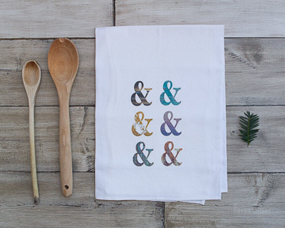SALE - Ampersand Tea Towel