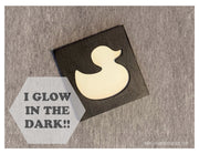 Glow in the Dark Art Magnet - Duckie Duck